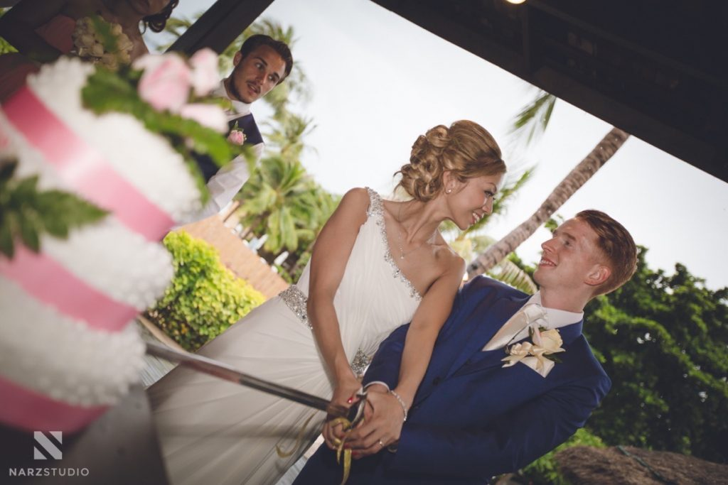 Koh samui beach wedding photographer