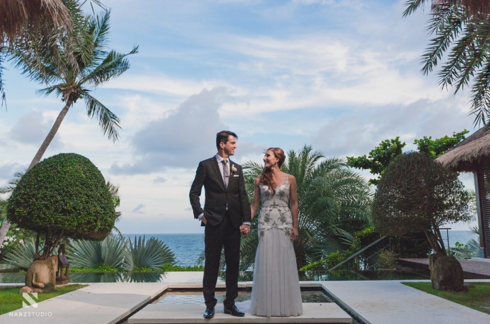 Marta & Brett | Villa Wedding in Koh Samui