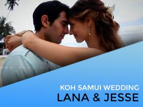 Lana & Jesse | Villa Wedding Koh Samui