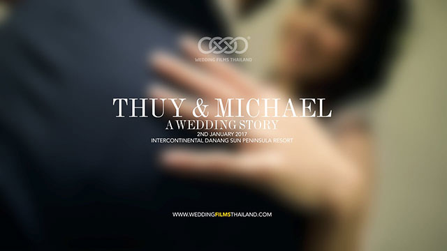 Thuy & Michael Wedding in Danang Vietnam