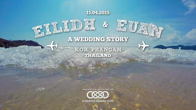 Eilidh & Euan Wedding Koh Phangan-Thailand